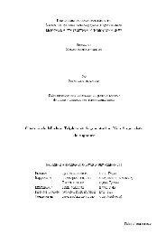 Chaînes de Markov triplets et segmentation non supervisée des ...