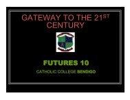 GATEWAY TO THE 21ST CENTURY - VETnetwork Australia