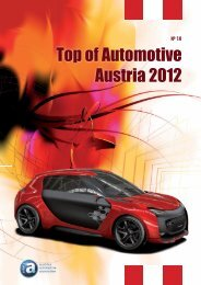 Top of Automotive Austria 2012 - Automotive Cluster Vienna Region