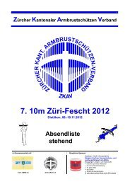 7. 10m ZÄri-Fescht 2012 - ZKAV