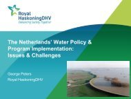 The Netherlands' Water Policy & Program ... - City of Yorkton
