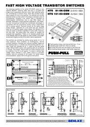 HTS 81-06-GSM / HTS 151-03-GSM