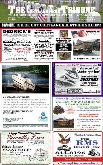 May 18-31, 2011 - The Cortland Area Tribune