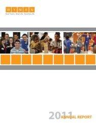 Annual Report - Wyman