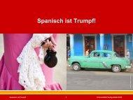 Spanisch ist Trumpf! - Ernst Klett Verlag