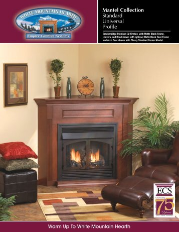 Mantel Collection Standard Universal Profile - At Andiron Fireplace ...