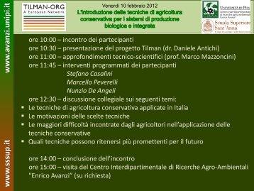L'introduzione delle tecniche di agricoltura ... - Enrico Avanzi