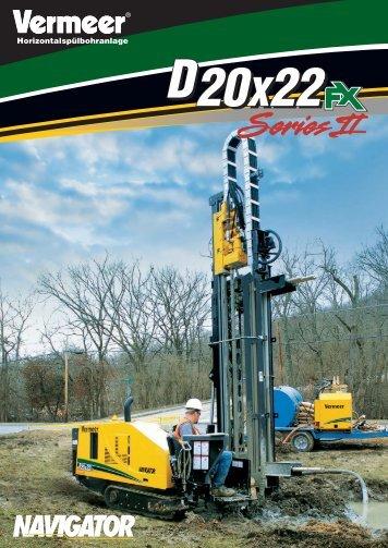 D20x22FX II.indd - Vermeer Deutschland GmbH