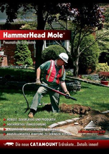 Hammerhead Mole® Erdraketen