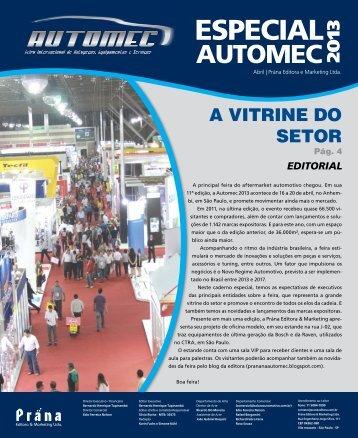 Caderno AUTOMEC 2013 - Balcão Automotivo