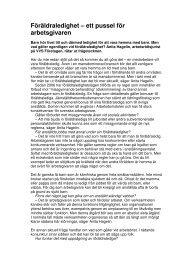 Publicerad i VVS-Forum nr 1/2009. - neij.se
