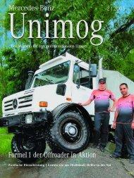 Formel 1 der Offroader in Aktion - Unimog Rhein Main