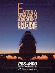 MTI PBS-4100 Jet Engine Trim Balancing System - MTI Instruments ...
