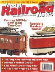 Model Railroad News, Oct 2012 Review - Con-Cor