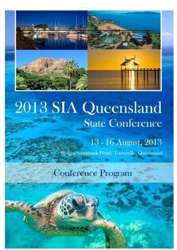 Full Conference Program (download) - GEMS Event Management