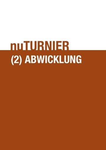 (2) abwIcklUNg