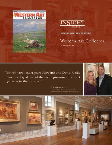 Please click HERE to see our feature article - InSight Gallery