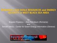 ROMANIA's ROMANIA's GAS SHALE ... - Petroleumclub.ro