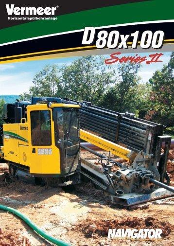 D80x100 II.indd - Vermeer Deutschland GmbH