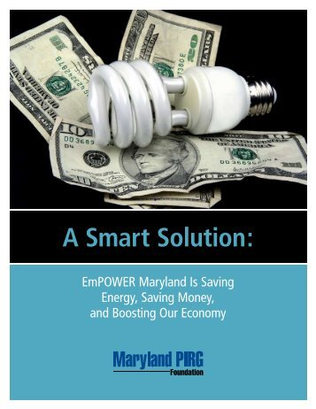 Download Maryland-PIRG-A-Smart-Solution-web.pdf - Frontier Group