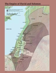 The Empire of David and Solomon