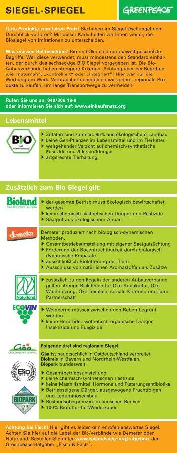 Bio-Siegel-Dschungel