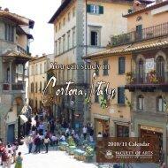 You can study in - Cortona Sviluppo