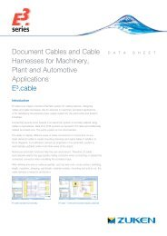 Document Cables and Cable Harnesses for Machinery, Plant and ...