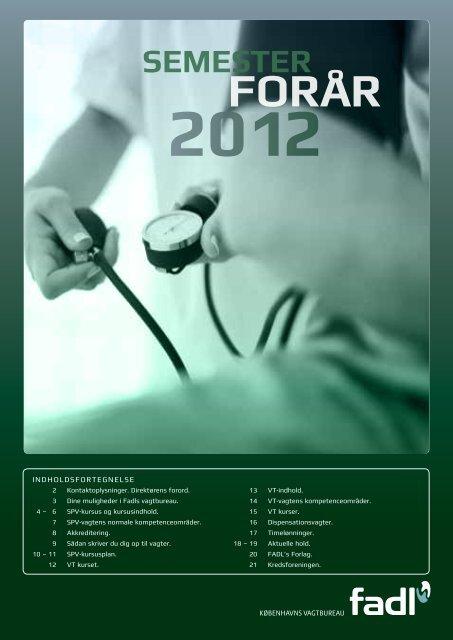 Foråret 2012 - fadl.dk