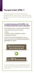 Assurance de prêt APRIL, une assurance APRIL - Page 2