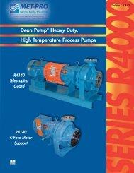 DEAN R400/R4000 Bulletin - Pristine Water Solutions Inc.