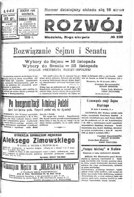 Rozwoj 1930 nr240a