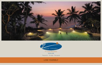 LOSE YOURSELF - Surya Samudra Beach Garden