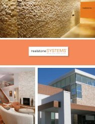 Request a Brochure - Realstone Systems