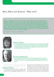 Null Bock auf Schule: Kampe/Rademacker/Thünken/Göbel