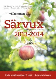 Katalog Särvux 2013-2014 - Borås