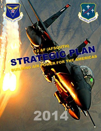 Strategic Plan - Davis-Monthan Air Force Base