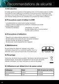 Notice pour Enregistreurs numériques DVR SEDEA - Page 4