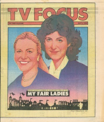 Times-Picayune - TV Focus magazine - 5/6/84 - WorldsFairPhotos