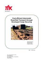 Cost efficient Intermodal Road-Rail Transport through Developed ...