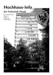 Hochhaus-Info - Fachschaft Physik