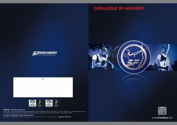 CATALOGUE SF-ARCHERY