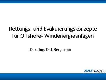 Evakuierung von Offshore- Windenergieanlagen - Offshoretage