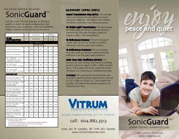 SonicGuard - Vitrum Industries