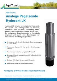 Hydrocont LK - Aquitronic