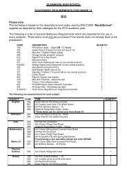 Stationery list grade 11 2012.pdf - Glenwood High School
