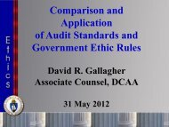69. Comparison and Application of Audit Standards and ... - PDI 2012