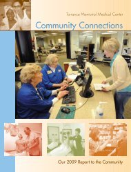 Community Connections - Torrance Memorial Medical Center