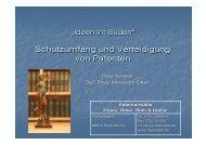 Schutzumfang und Verteidigung von Patenten Schutzumfang und ...