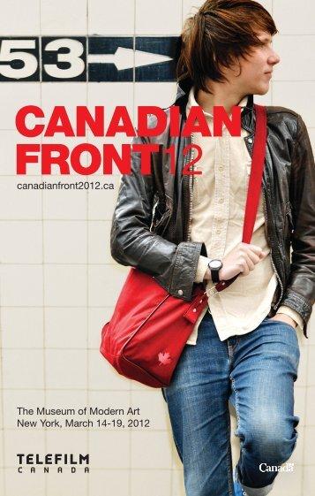 CANADIAN FRONT12 - Telefilm Canada